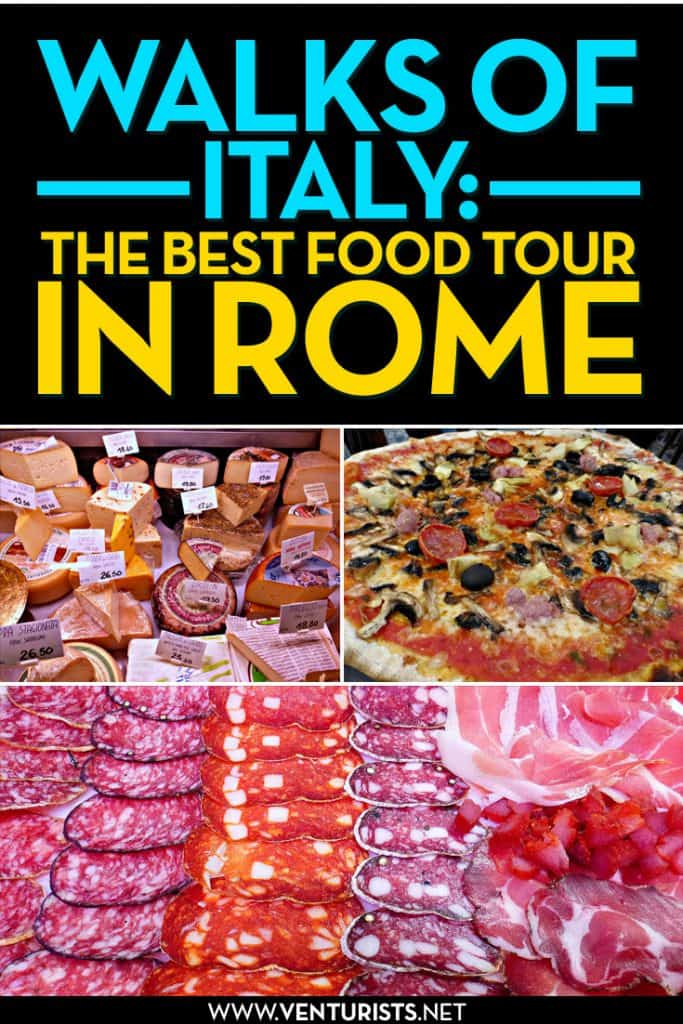 Walks of Italy Rome Food Tour