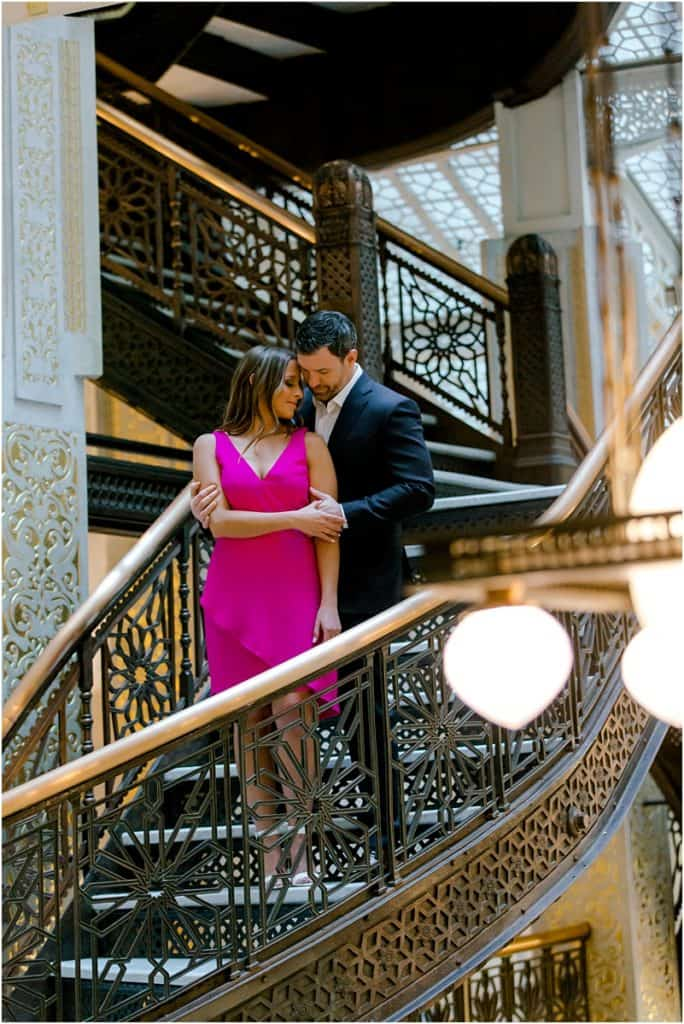 Rookery Building Engagement Session