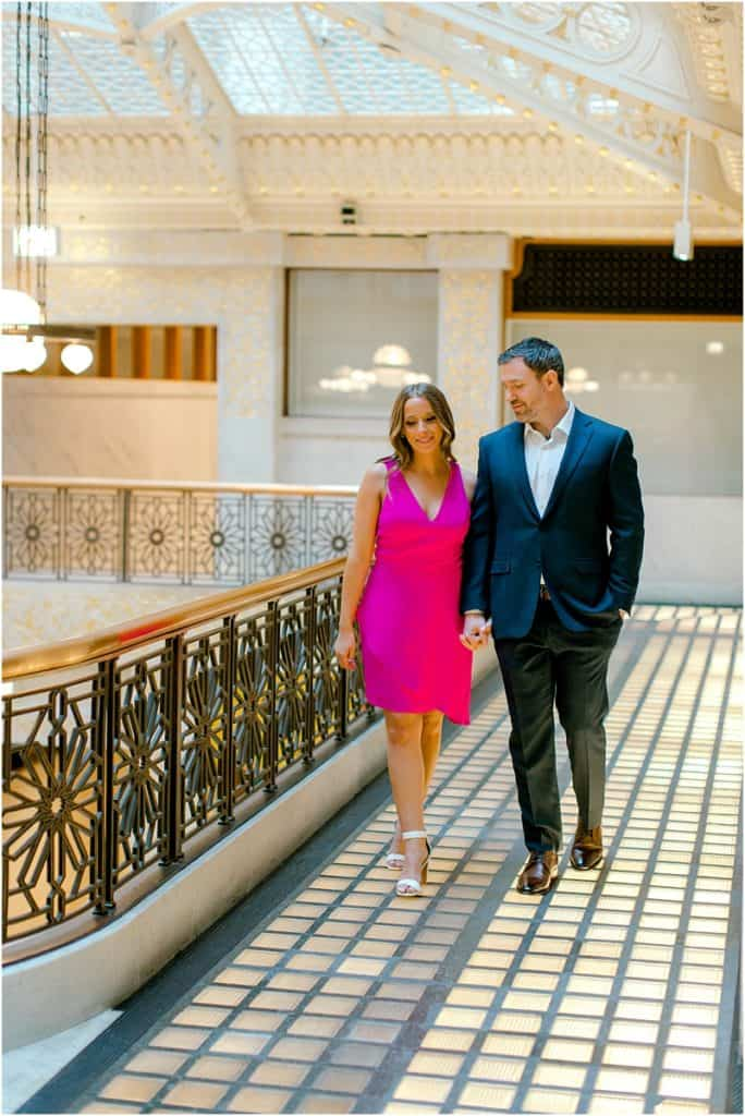 The Rookery Building Engagement photos