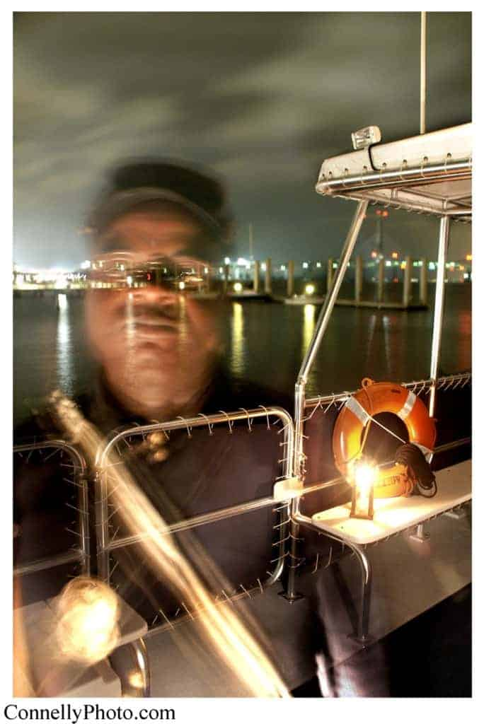 Ghost on boat caught on camera. Scariest Charleston ghost tour