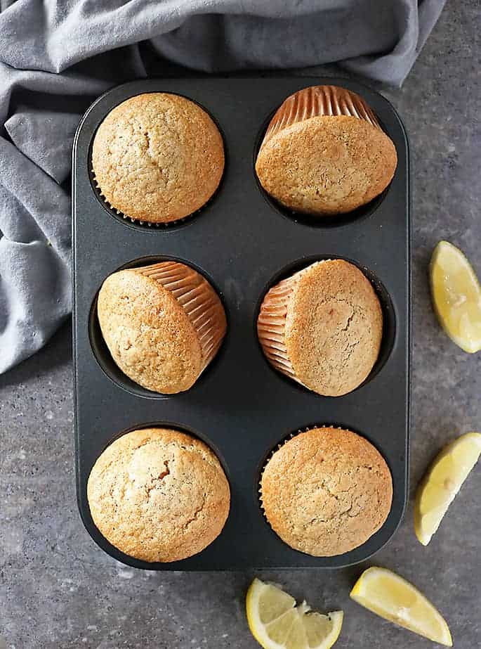 Photo of Lemon Muffins in the pan