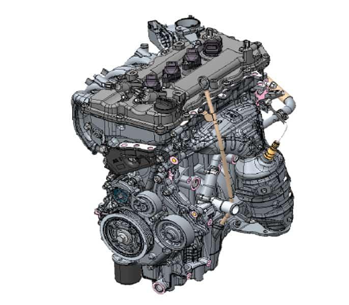 Động cơ xe Wigo 2019