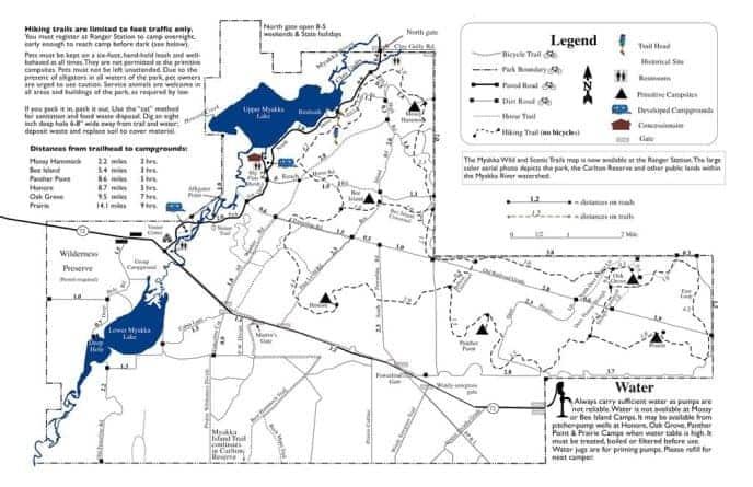 Myakka State Park Map Myakka River State Park: 10 reasons to visit this big, wild Sarasotapreserve