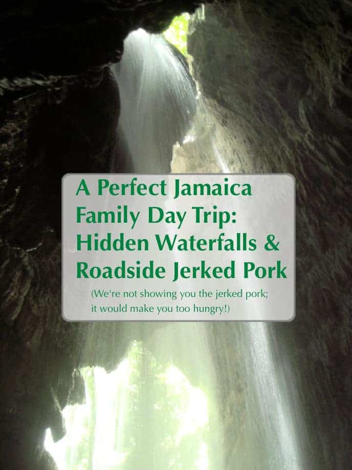 Jamaica has lots to offer outside its beautiful beach resorts, like the gorgeous water falls and yummy jerked pork