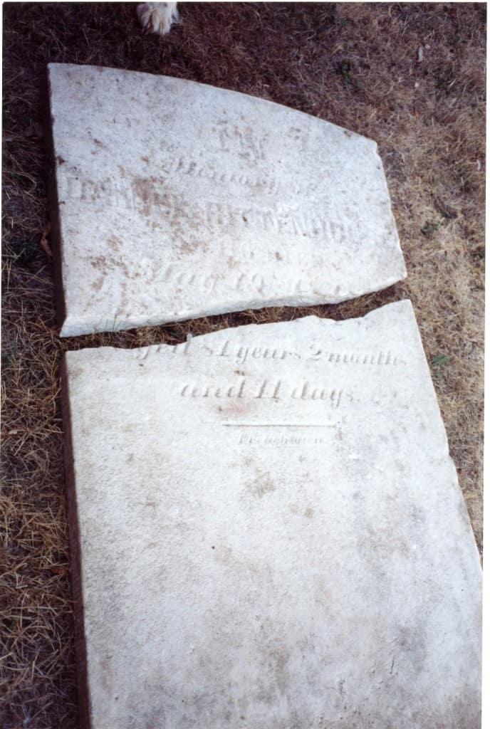 Gravestone of Daniel Rittenhouse
