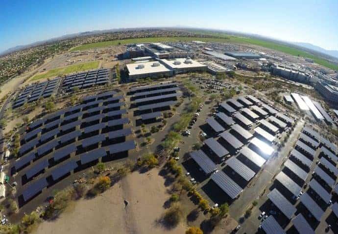 Intel solar panels