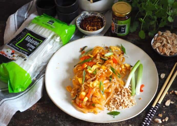 Pad Thai z tofu i jajkiem Jakub Kuroń House of Asia