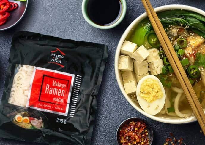 Ramen z tofu i wakame House of Asia