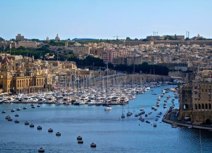 Malta im Mittelmeer