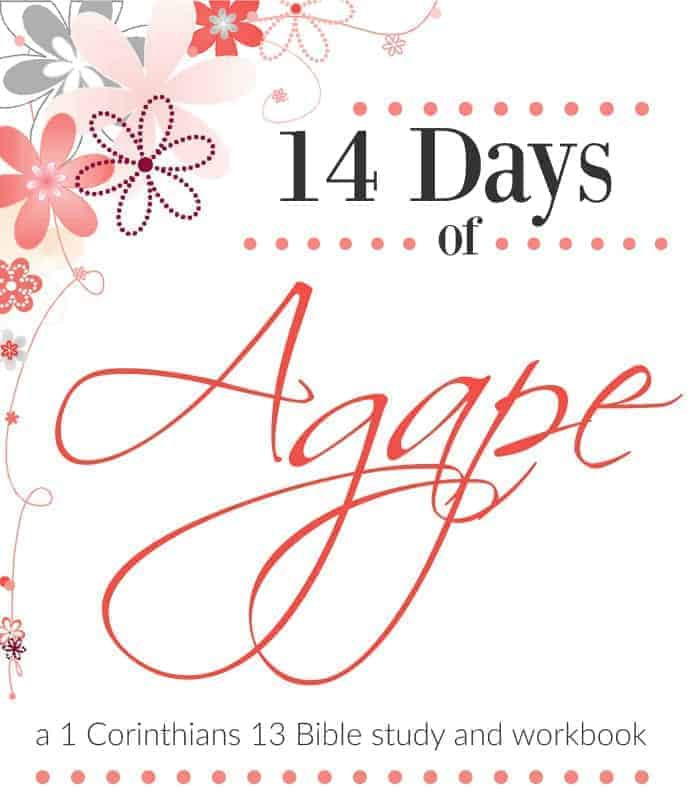 Is the church effective in showing the love of God to each other and the world at large? Does she really understand what it means to love - really love? 14 Days of Agape is my journey through 1 Corinthians 13 from the perspective of the local church and how it relates to our brothers and sisters in Christ. Join me on my journey, verse by verse, as we learn to truly love the body of Christ God's way! #alittlerandr #biblestudy #onlineBiblestudy #love #church