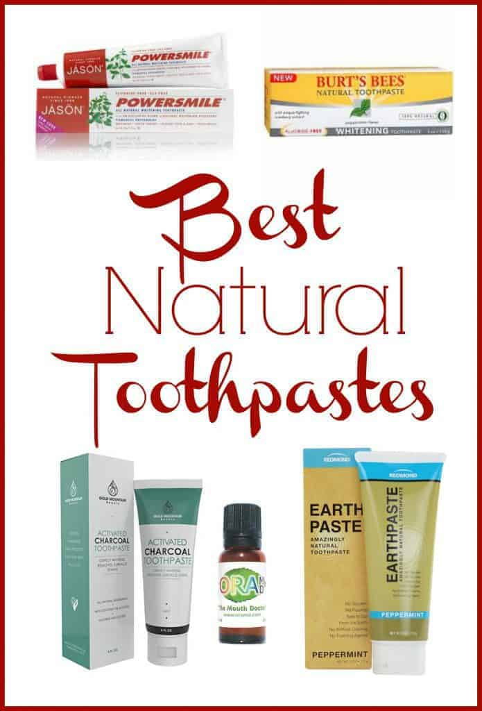 Want a non-toxic toothpaste but can't go the homemade route? Here are some of the best natural toothpastes that you can buy! #toothpaste #natural #toxicfree #naturalliving #greenbeauty #oralcare