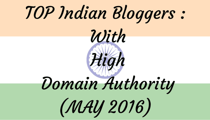 Top Indian Bloggers