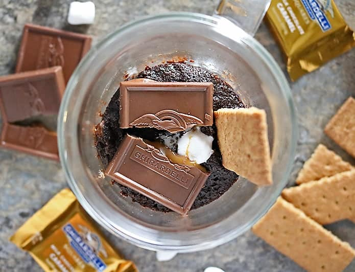 Photo of S'mores Mug Cake With Ghirardelli