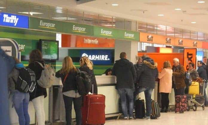Car Hire Desks at Dublin Airport - The Irish Place
