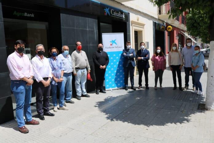 La Obra Social de la Fundación La Caixa subvenciona con 14.800 euros 5 proyectos solidarios de entidades sociales de Lora del Río