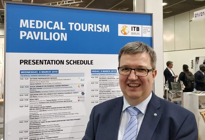 Lutz Lungwitz 1. Vorsitzender Deutscher Medical Wellness Verband e.V.