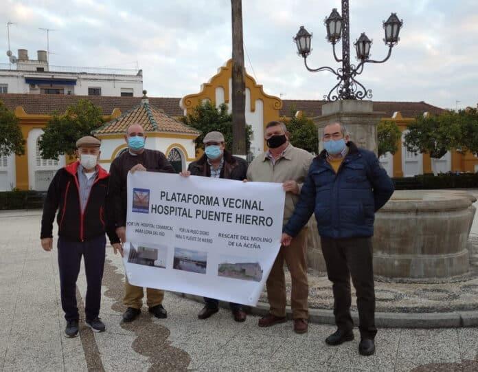 Miembros de la Plataforma Vecinal Hospital Puente Hierro