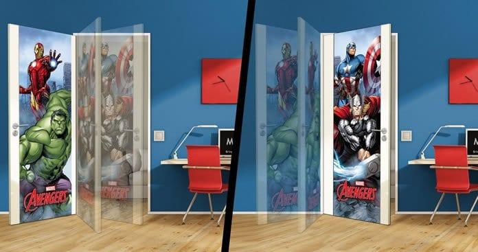Mydor Marvel Classic Avengers Door Wrap Review