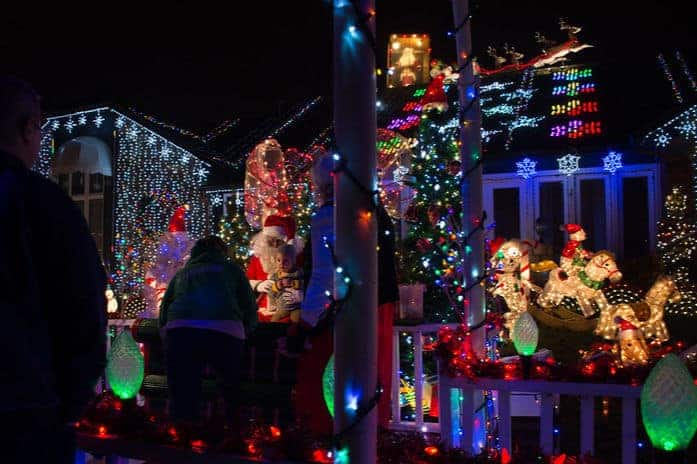 Lights on Texas visit with Santa Claus was a holiday tradition in Wichita