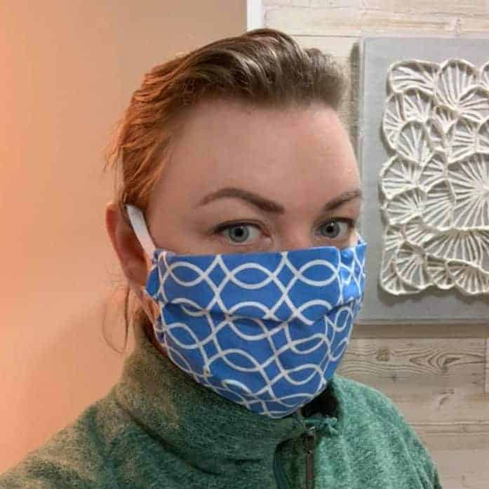 Easy Homemade Fabric Mask
