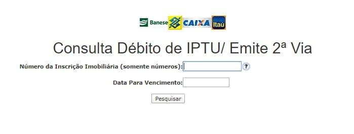 IPTU Aracaju SE consulta e 2 Via