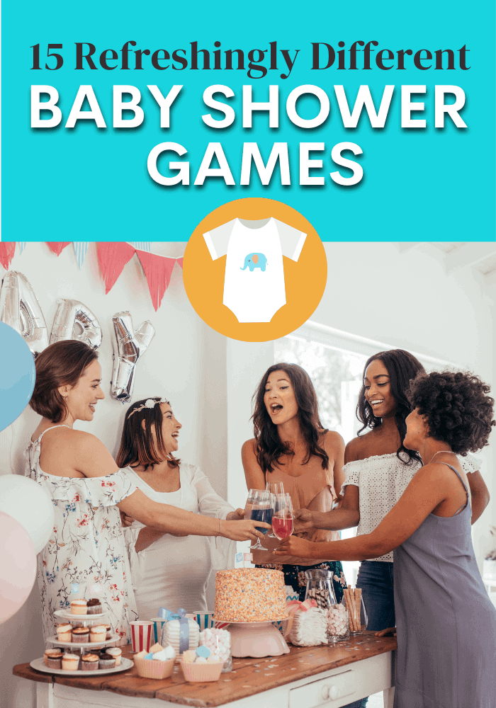 Baby shower Games with men and women