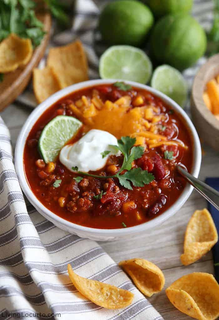 Best Healthy Turkey Chili Recipe Easy One Pot Southwest Chili