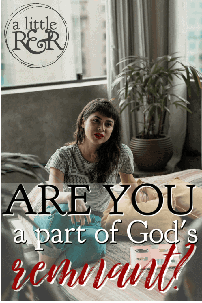 In 1 Kings and Romans, we see reference to God's remnant - a group of believers who have refused to follow societal norms. Are you a part of God's remnant? #alittlerandr #bible #onlineBiblestudy #WomensBibleStudy #1kings