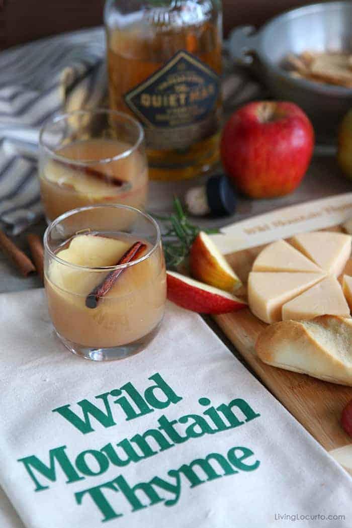 Irish Apple Cider Whiskey Cocktail - Wild Mountain Thyme Movie