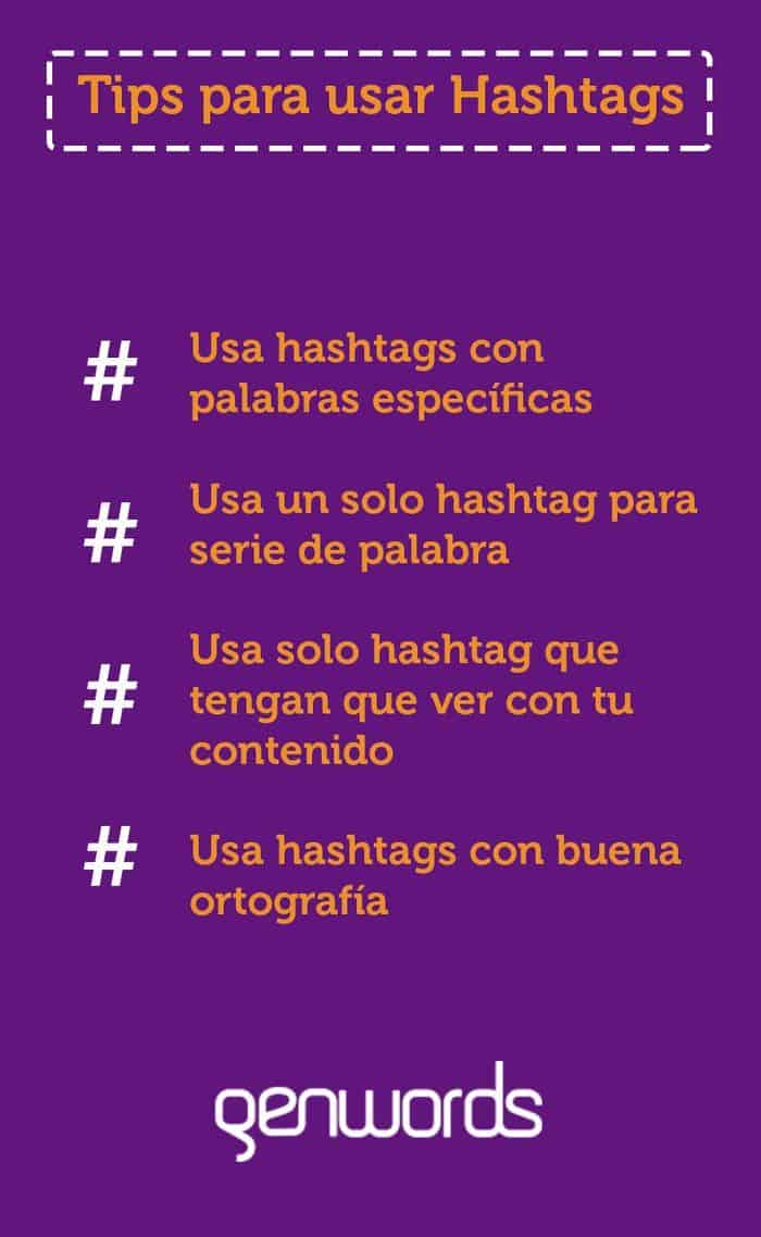tips para usar hashtags