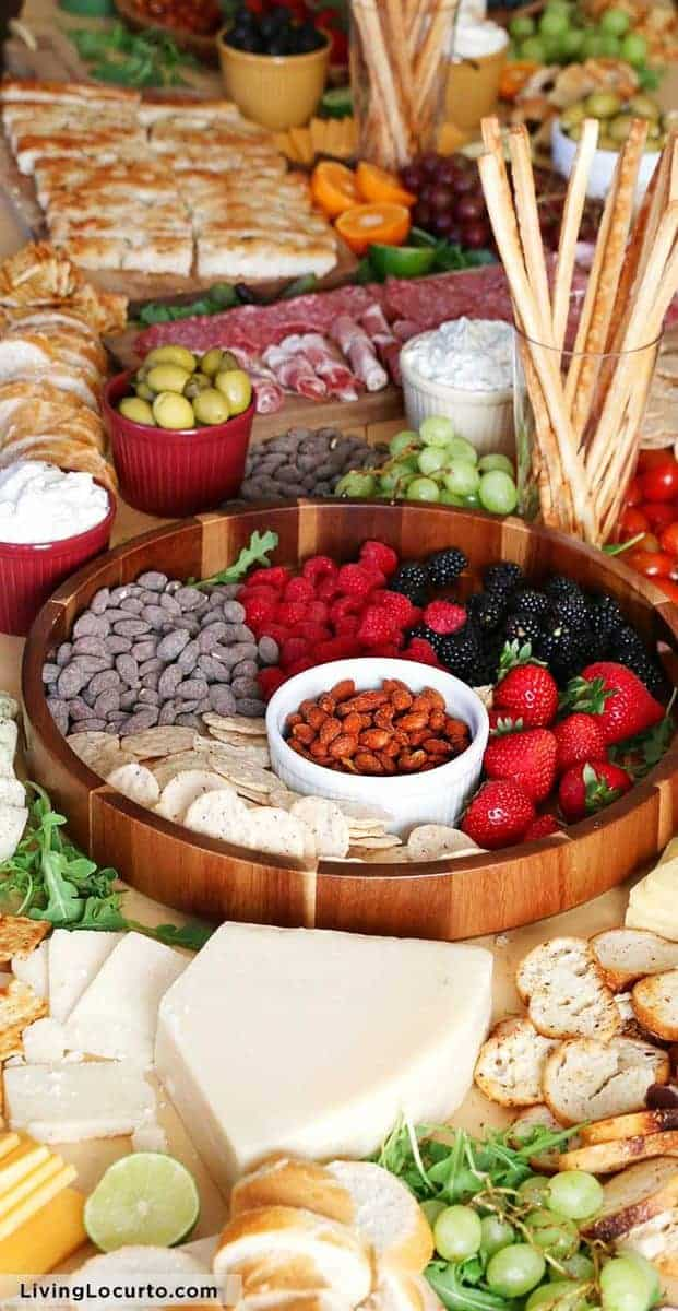 Epic Charcuterie Board Easy Party Ideas - LivingLocurto.com