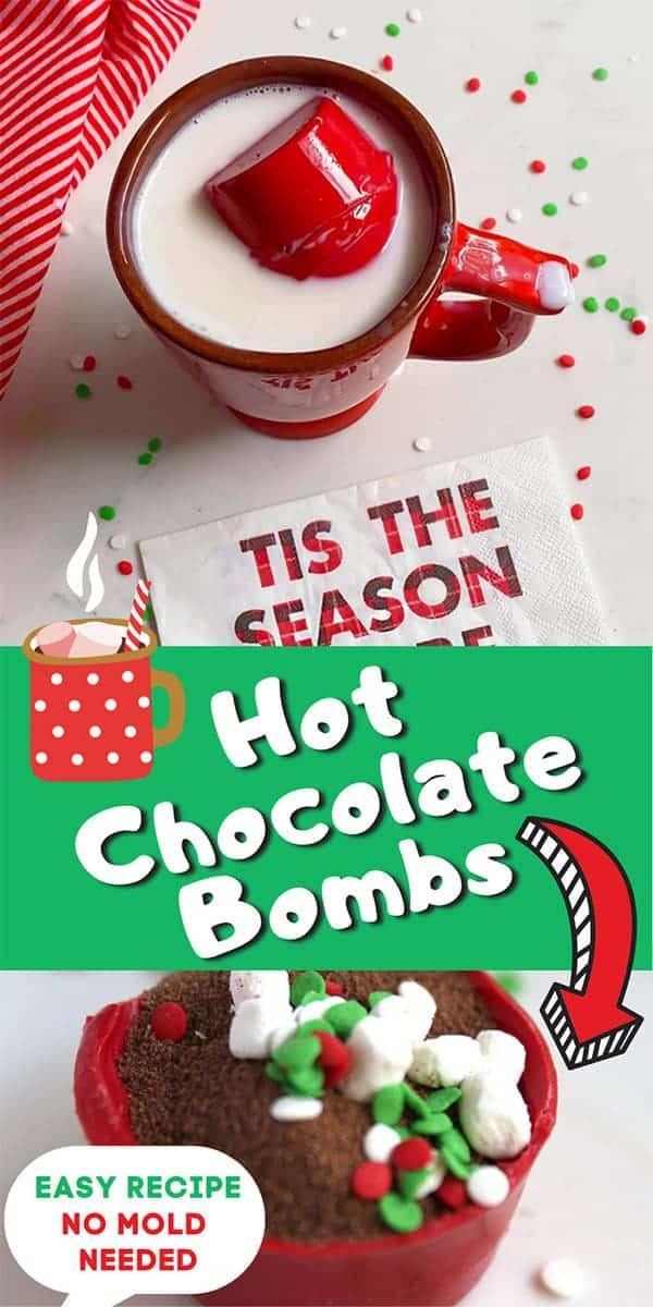 Hot Chocolate Bombs Recipe DIY Christmas Gift