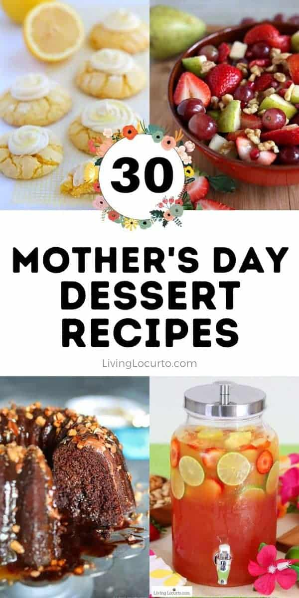 Easy Mother's Day Dessert Recipes