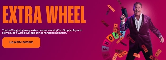 The Hoff Extra Wheel Promotion