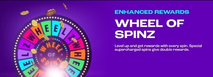 Wheel of Spinz Promotion