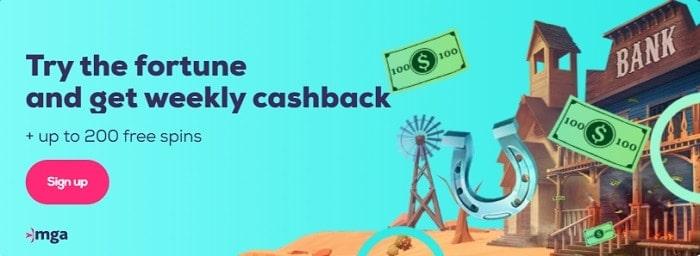 Wild Fortune Cashback