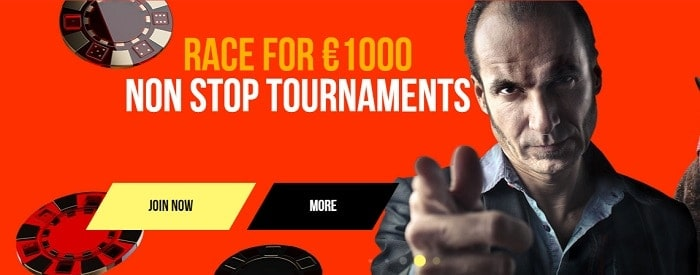 Non-Stop Tournament with 1000 EUR Prize Pool