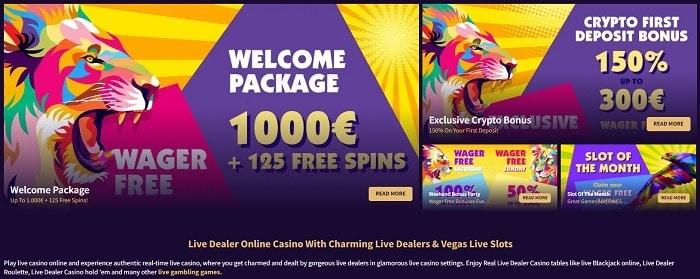 No Wager Bonus at HazCasino.com