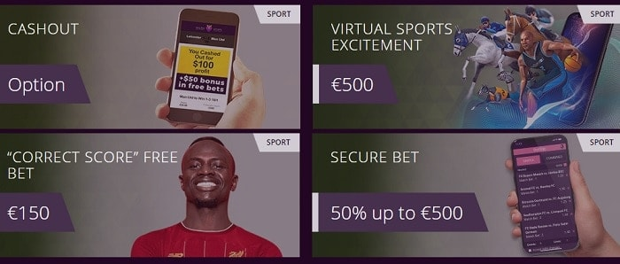 Malina Sportsbook Promotion