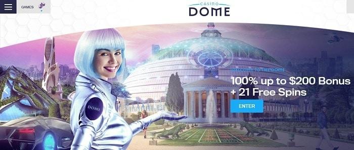Enter Dome Games Now!