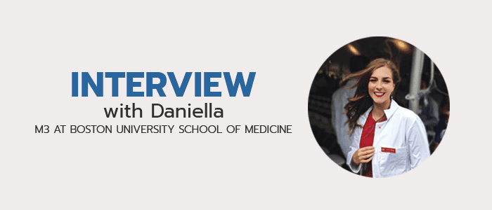 Check out more interviews with medical students!