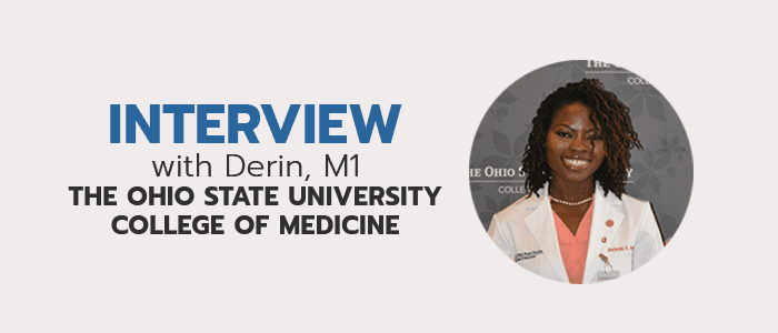 Read more interviews with medical school students!