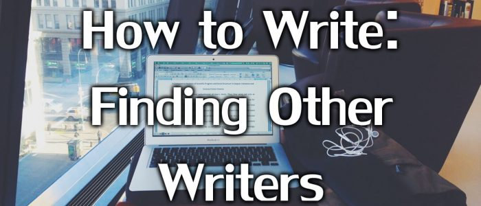 Finding other writers