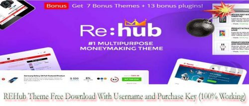 REHub Theme Free Download