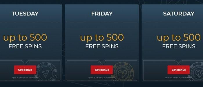 Free Spins Every Week