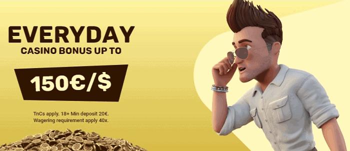 Everyday Casino Bonus