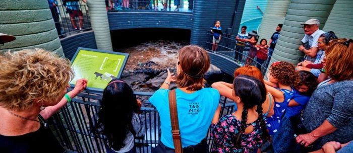 Families can learn about ongoing excavations at the la brea tar pits