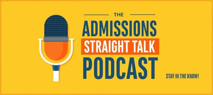 Subscribe to Admissions Straight Talk!