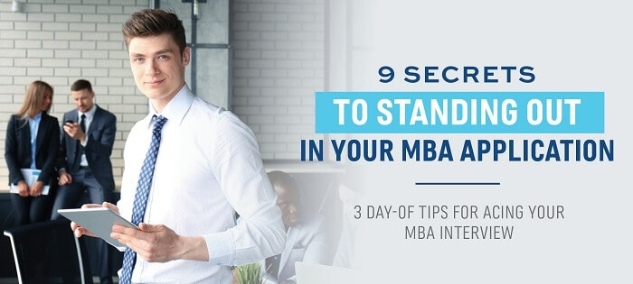 Great tips for how to answer and ace your MBA interview.
