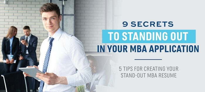 Tips on Creating Your MBA Resume.